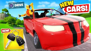 *NEW* CAR UPDATE is EPIC in Fortnite! (ALL CARS + SECRETS) by Ali-A