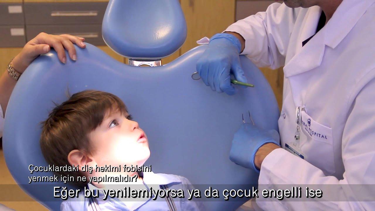 Çocuklardaki diş hekimi fobisini yenmek için ne yapılmalıdır?