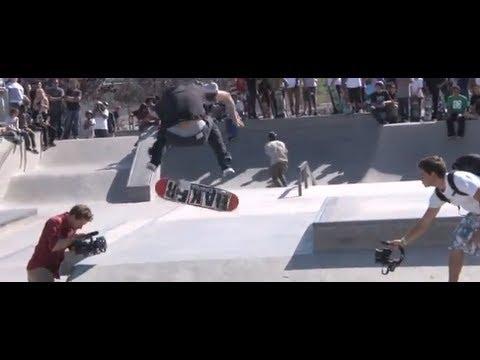 Professional Skate Demo at Pedlow Skate Park in Ca. May 4, 2012