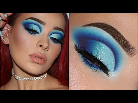 HOW TO ROCK BLUE EYESHADOW LIKE A BOSS | In-Depth Makeup Tutorial