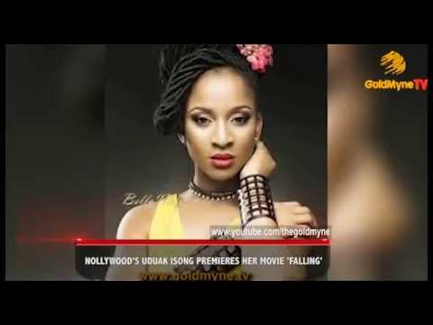 """NOLLYWOOD'S UDUAK ISONG, PREMIERES HER MOVIE, """"FALLING"""""""