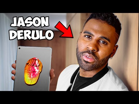 Surprising Jason Derulo With A Custom iPad!!📱🎨 ft. ZHC (Giveaway)