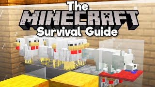 Fox Powered Chicken Cooker! • The Minecraft Survival Guide (Tutorial Let's Play) [Part 289]