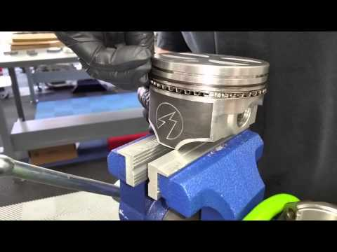 Installing Total Seal 289 Piston rings - Sandra's 1965 Mustang 2+2 Fastback - Day 77 Part 5