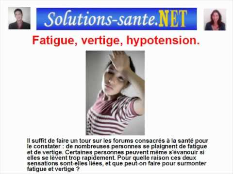 comment soigner hypotension orthostatique