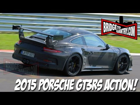 Nürburgring - FULL STORY AND PHOTOS HERE: http://bridgetogantry.com/2/index.php/home/spy-shots-a-prototypes/637-video-2015-porsche-gt3rs-not-a-turbo Exclusive footage of the new 991 Porsche GT3RS testing...