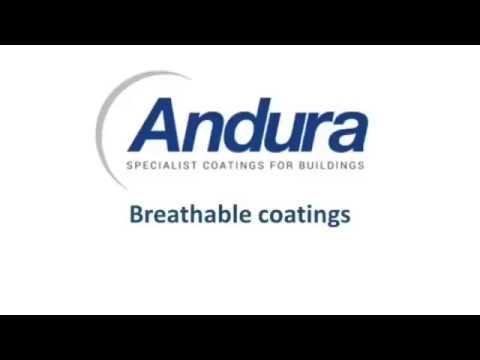Andura's specialist exterior masonry Coatings stop water from coming in 2018