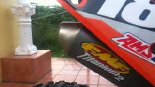 10. KTM 250 sx 2010 with fmf shorty titanium
