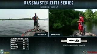 Live from the water - Day 3 Toledo Bend