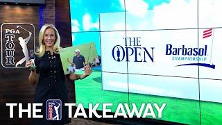 Grace's Major 62, Spieth leads & DJ rises by PGA TOUR