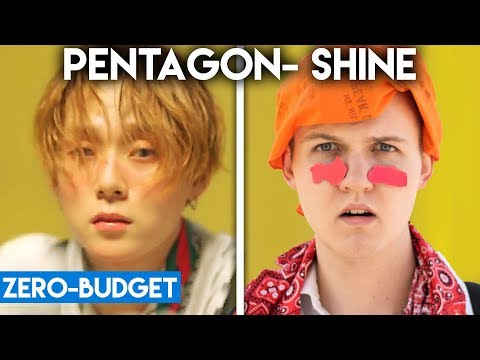 Video K-POP WITH ZERO BUDGET! (PENTAGON- Shine) download in MP3, 3GP, MP4, WEBM, AVI, FLV January 2017