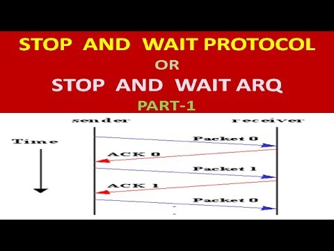 WHAT IS  STOP AND WAIT ARQ ?: NETWORK :HOW STOP AND WAIT ARQ WORK ? PART-1