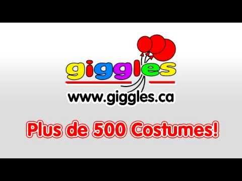 Costumes d'Halloween Montréal giggles.ca