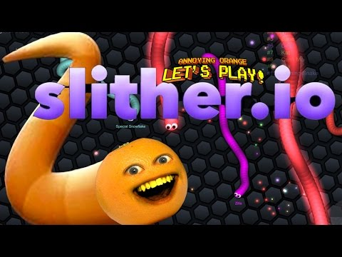 Video Annoying Orange Plays - SLITHER.IO: #1 BIGGEST SNAKE!!! download in MP3, 3GP, MP4, WEBM, AVI, FLV January 2017