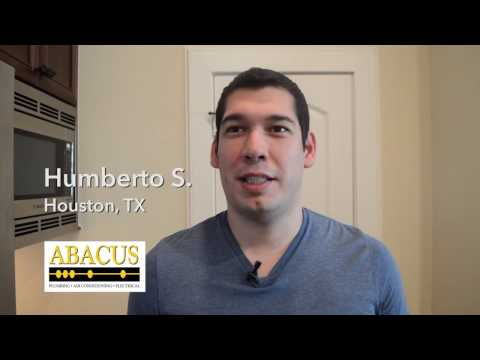 Abacus Air Conditioning Review – Humberto S – Houston, TX