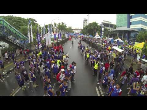 Bosowa Half Marathon 2014