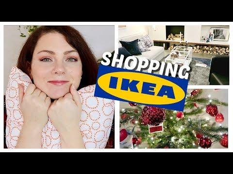 SHOPPING VLOG - C'est déjà Noël chez IKEA, accessoires et décorations | IKEA Shopping & Haul #3