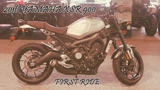 6. 2016 Yamaha XSR 900 | First Ride