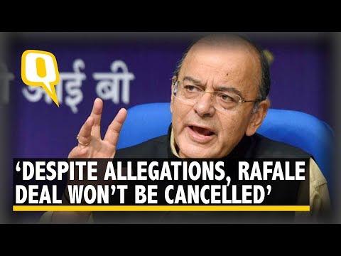 Arun Jaitley Attacks Rahul, Says Rafale Deal Won't Be Scrapped