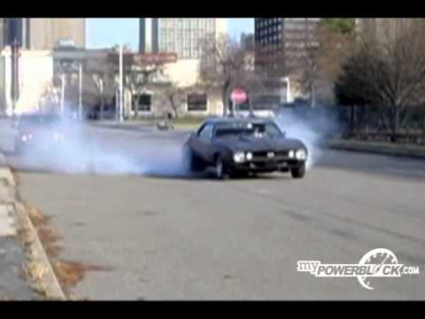 myPowerBlock: 1967 Camaro Burnout
