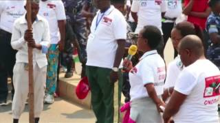 La ligue de jeunesse du parti au pouvoir (CNDD-FDD) au Burundi, que l'ONU décrit comme une milice, a tenu une «protestation...