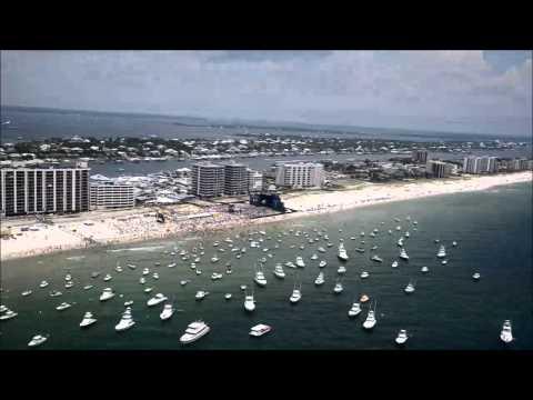 Aerial footage of 's FloraBamaJama: Aug 16, 2014