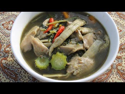 ແກງຫນໍ່ໄມ້ Keng nor mai: Laotian language recipe - Cooking With Morgane