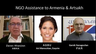 Armenian NGO assistance to Armenia, Artsakh and Beirut