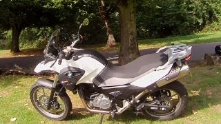 10. BMW G 650 GS ride