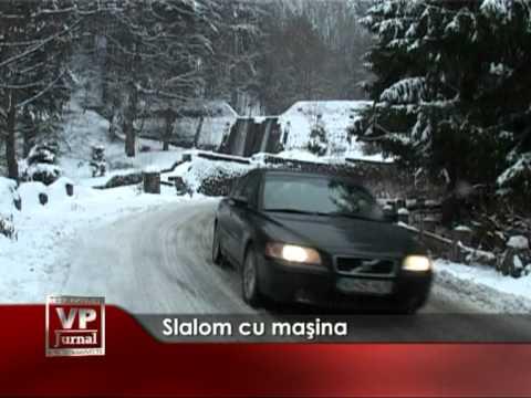 Slalom cu maşina