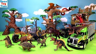 Hi kids, RaceToyTime here! Today, we are going to show and play with this Animal Planet Dino Transport Playset. We also included some toy dinosaurs in this video, such as, tyrannosaurus rex or t-rex, triceratops, spinosaurus, velociraptor, carnotaurus, allosaurus, parasaurolophus, brachiosaurus, pteranodon, utahraptor, ankylosaurus, styracosaurus and more, so watch the whole thing or video. Please subscribe to RaceToyTime channel if you haven't already done so. Like, share, and comment on our video. And, as always, thanks for watching!Subscribe to racetoytime here - https://www.youtube.com/channel/UCVTQrl1dtafYX08IBb7EhrwWatch our other videos:  Learn Animal Toys Names │ Zoo Animals Elephant Lion Tiger Rhino for Kids - https://www.youtube.com/watch?v=KnsmONvQyeYLearning Sea Animals Toy Sharks Whales Dolphin - https://www.youtube.com/watch?v=9i88w4UqPnADinosaur Surprise Toys Game in the Claw Machine -  Learn Dinosaurs Names For Children - https://www.youtube.com/watch?v=H8AkVqFrxhoJurassic World Mini Dinosaurs Figures Blind Bag Exclusive Indominus Rex  - https://www.youtube.com/watch?v=_bgyS74lUR8Playmobil City Zoo Toy Wild Animals Building Set Build Review - https://www.youtube.com/watch?v=g5dbYcmUHZ8Playmobil City Life Large Zoo Toy Wild Animals Building Set Build Review - https://www.youtube.com/watch?v=IZXfiFPyW8EDinosaurs 3D Puzzles Animals Eggs Surprise Toys - Spinosaurus Ankylosaurus Pteranodon - https://www.youtube.com/watch?v=VJuukvLmpSgDinosaur Transforming Eggs Toys - Tyrannosaurus Rex Pterodactyl Velociraptor Triceratops - https://youtu.be/HT_CFeMP9GkToy Wild Animals 3D Puzzles Collection - Lion Panda Elephant Zebra Tortoise │ Animals for children - https://youtu.be/yabb98z1WC8Playmobil Toy Wild Zoo Animals Collection For Kids - Tiger Panda Koala Gorilla - https://youtu.be/L06I3WiWjNsPLAYMOBIL Country Farm Animals Pen and Hen House Building Set Build Review  - https://www.youtube.com/watch?v=dGplrNa-NZkPLAYMOBIL Toy Wild Zoo Animals Collection For Kids - 