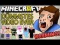 Das DÜMMSTE Minecraft VIDEO EVER! + Längster LACHFLASH - WARNUNG: Besser nicht gucken | ungespielt
