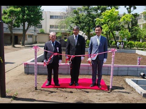 東林小学校開校記念田んぼお披露目式 2014年4月27日