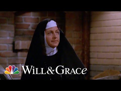 Ellen DeGeneres as Sister Louise - Will & Grace