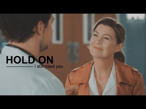 Meredith & DeLuca || Hold on