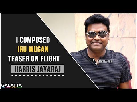 I-composed-Iru-Mugan-teaser-on-flight--Harris-Jayaraj