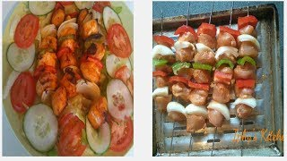 This video will show the viewers how to do a delicious and spicy chicken kebabs with the oven in their home, this another way of enjoying grilled chicken dur...