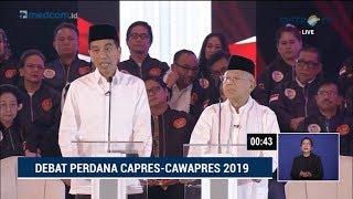 Video Debat Pilpres 2019 Part 2 - Jokowi Skak Prabowo Soal Penegakan Hukum MP3, 3GP, MP4, WEBM, AVI, FLV Januari 2019