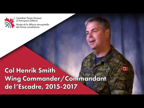 CFMAD Tells My Story - Colonel Henrik Smith