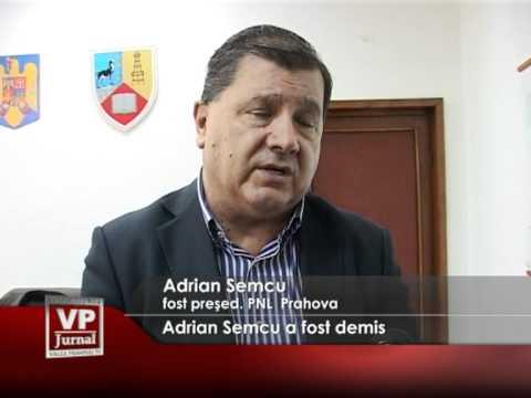 Adrian Semcu a fost demis