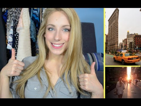 nyc - Comment below with any questions you want me to answer in future videos! xo Tips for getting an internship | http://bit.ly/17EmxpV My Facebook page - http://...