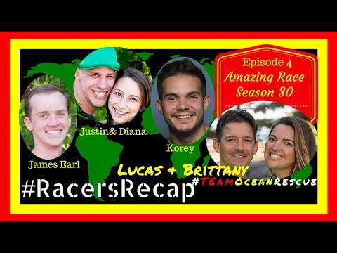 Amazing Race Season 30 Episodes 4 & 5 with Lucas and Brittany #RacersRecap