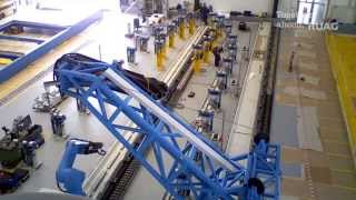RUAG Space - Installation of Ultrasonic Inspection Facility in Emmen (Time Lapse)