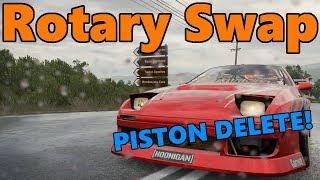 Forza Horizon 3 | Twerkstallion PISTON DELETE!! 4 Rotor Swap Build and Drift!!