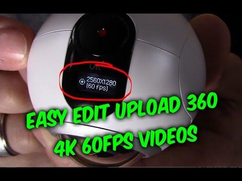 , title : 'Samsung Gear 360 Camera Setup Guide - Record Edit & upload share VR videos'