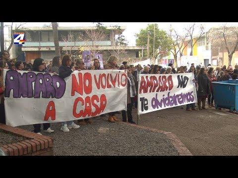 Marcha en memoria de Amparo Fernández