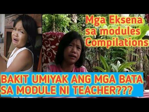 BAKIT UMIYAK ANG MGA BATA SA MODULE NI TEACHER / EKSENA SA MODULES COMPILATIONS - TEACHER JOEMAR