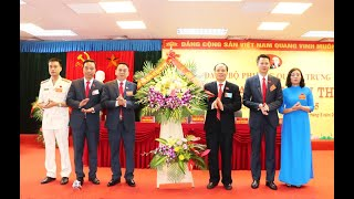 Đại hội Đại biểu Đảng bộ phường Quang Trung lần thứ XII, nhiệm kỳ 2020- 2025