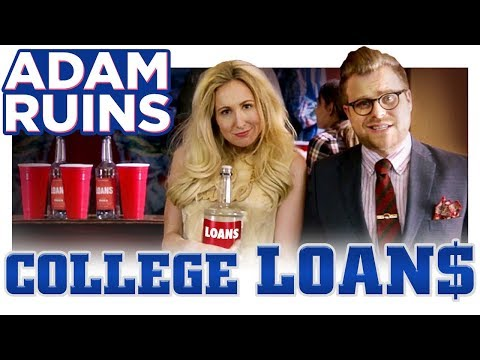 Adam Ruins Everything How College Loans Got So