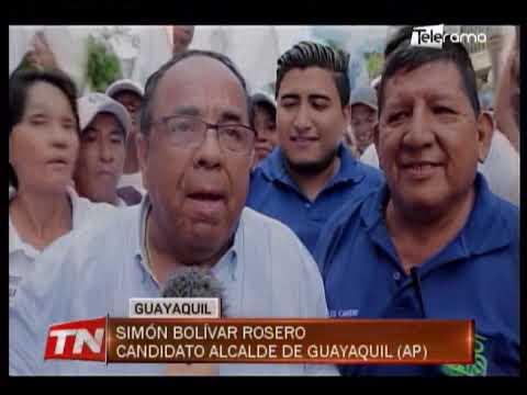 Recorridos y concentraciones marcan campaña por la alcaldía de Guayaquil